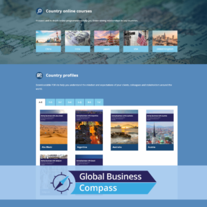 Global Business Compass site, online cultural awareness training