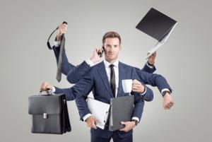 Hybrid Team - Multi Tasking - Global Business Culture