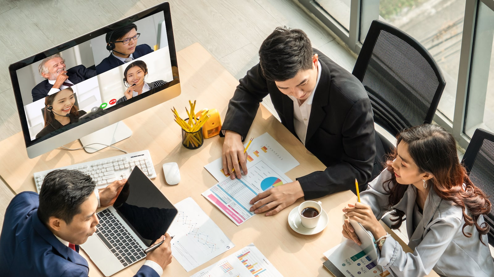 Hybrid Team Working - Hybrid Team Training - Global Business Culture
